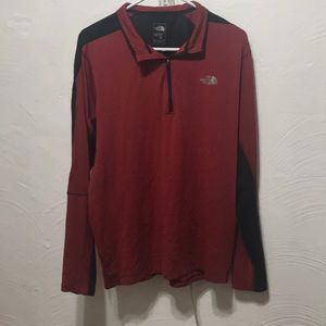 THE NORTH FACE PULLOVER QUARTER ZIP